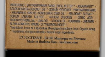 состав, loccitane, мыло, благотворительность