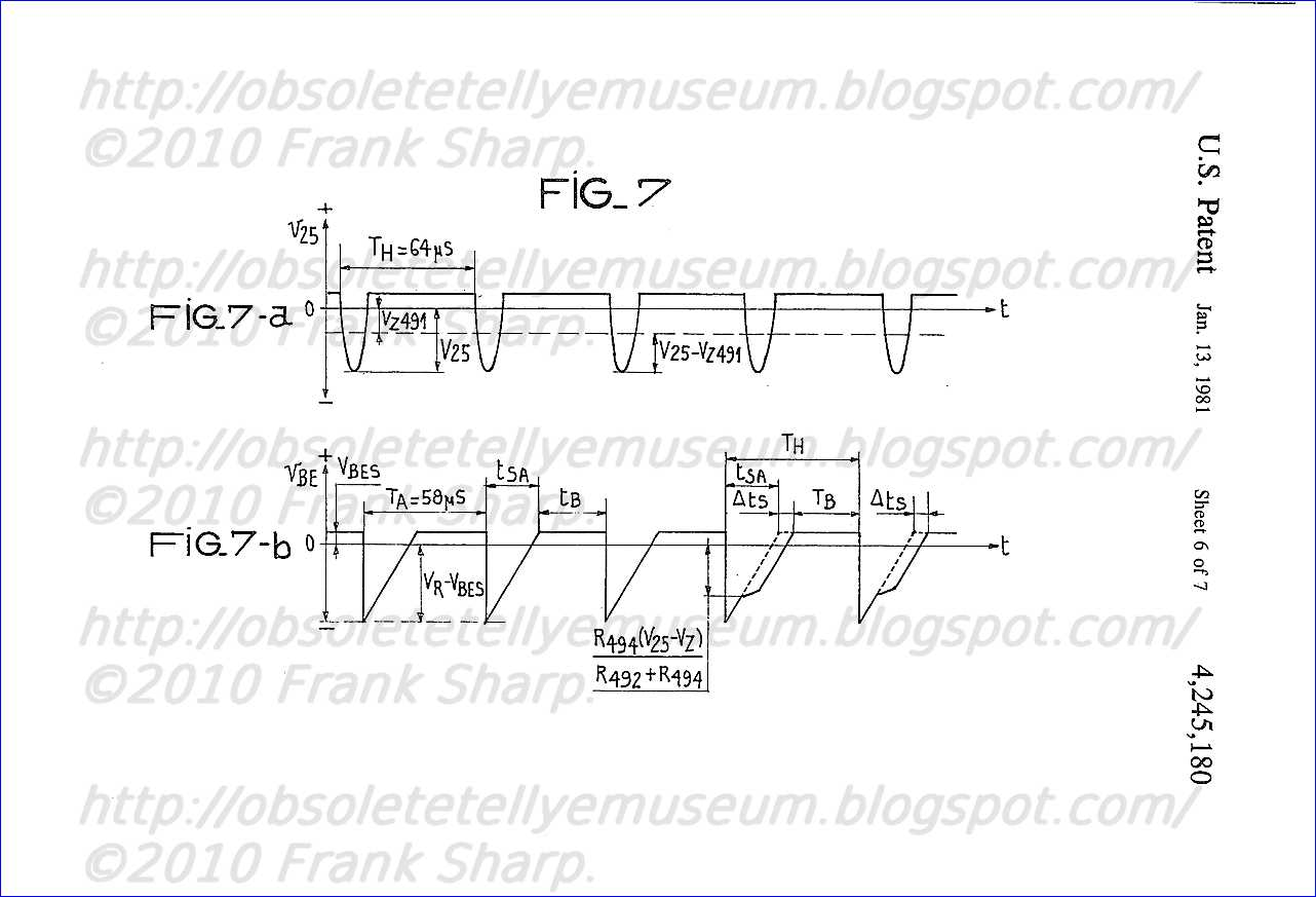 Obsolete Technology Tellye Indesit Mod T12si8 Matr 791 Chassis Event Failure Alarm 555 Circuit 555556 Timer In Fig 7 The First Three Periods Of Free Running Operation Multivibrator 48 Are Not Changed Because Either Line Return Pulse Occurs Outside Cut