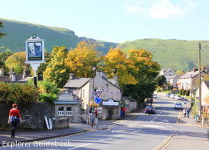 Castleton village england