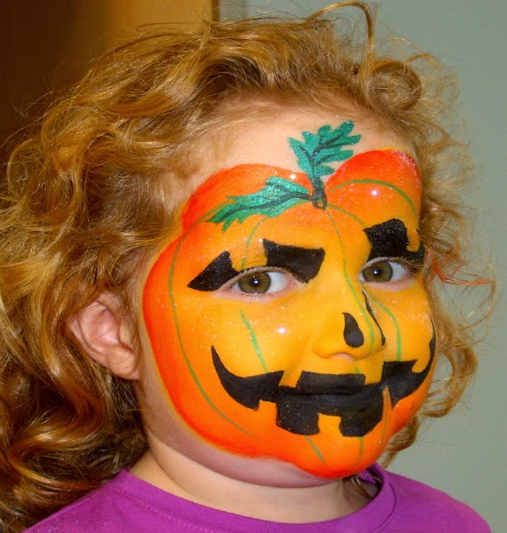 Multinotas halloween caras pintadas calabazas - Calabazas de halloween pintadas ...