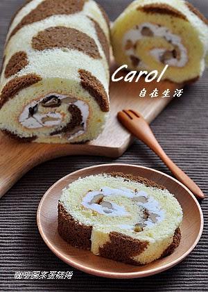 ... 夾餡 也 可以 使用 打發 鮮奶油 或是 卡 士達 醬