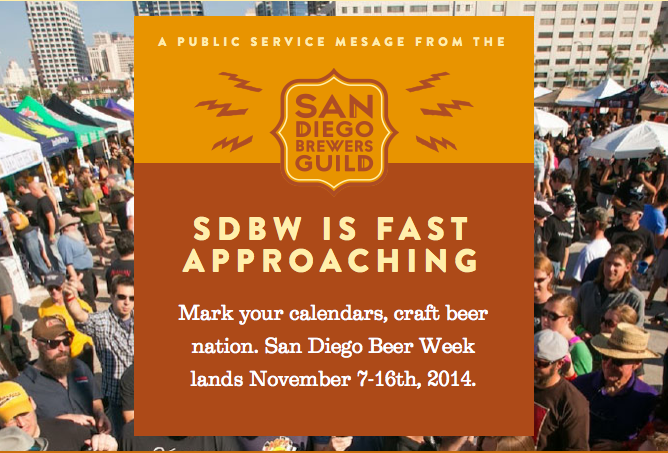 Sandiegoville san diego brewers guild to hold san diego for Craft beer guild san diego