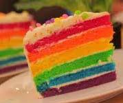 Resep Cake Rainbow