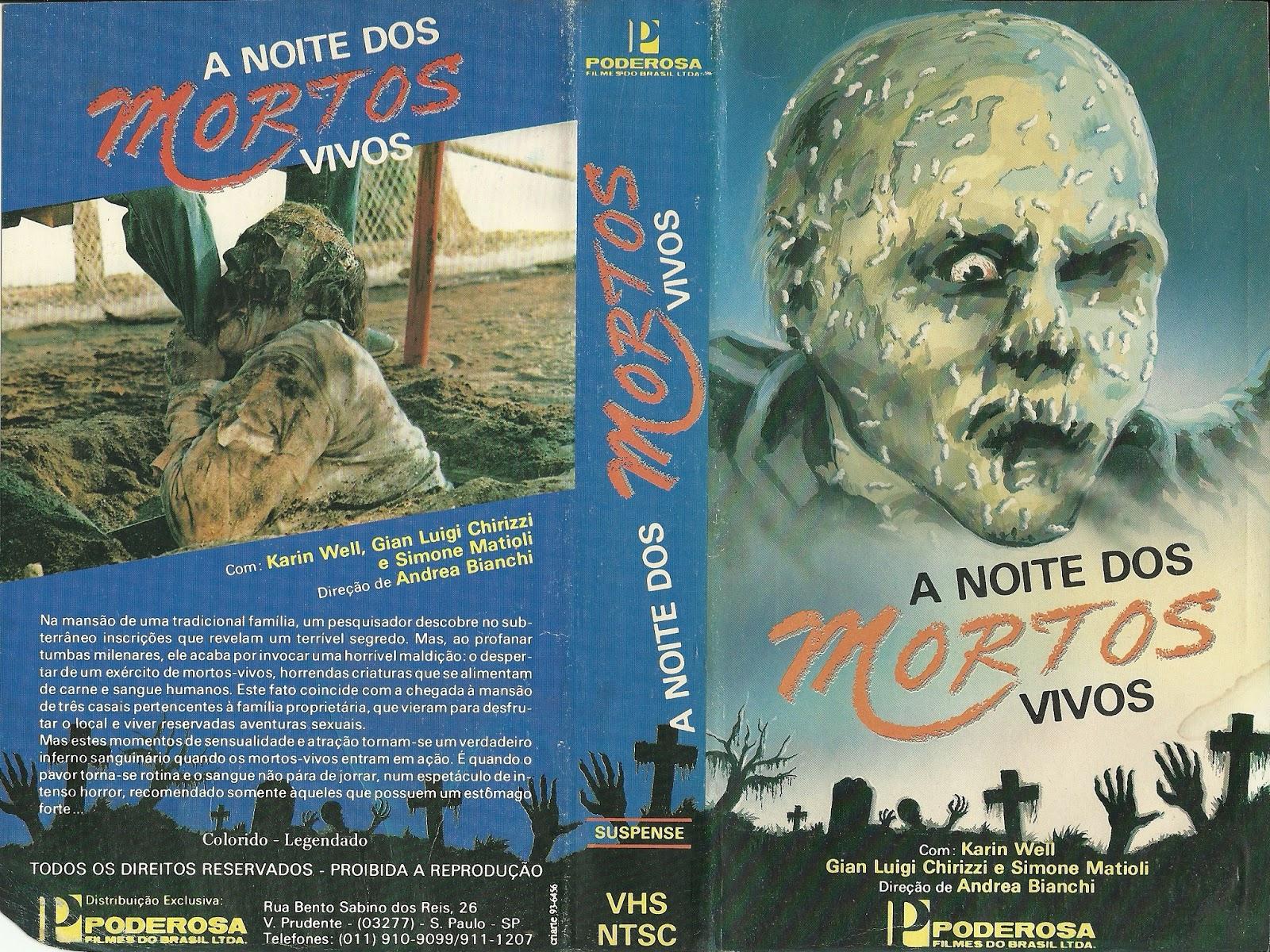 Filme Mortos Vivos with regard to vhs - o Último reduto: a noite dos mortos-vivos / a noite do terror