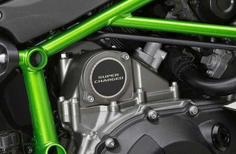 Kawasaki Nnja H2R engine