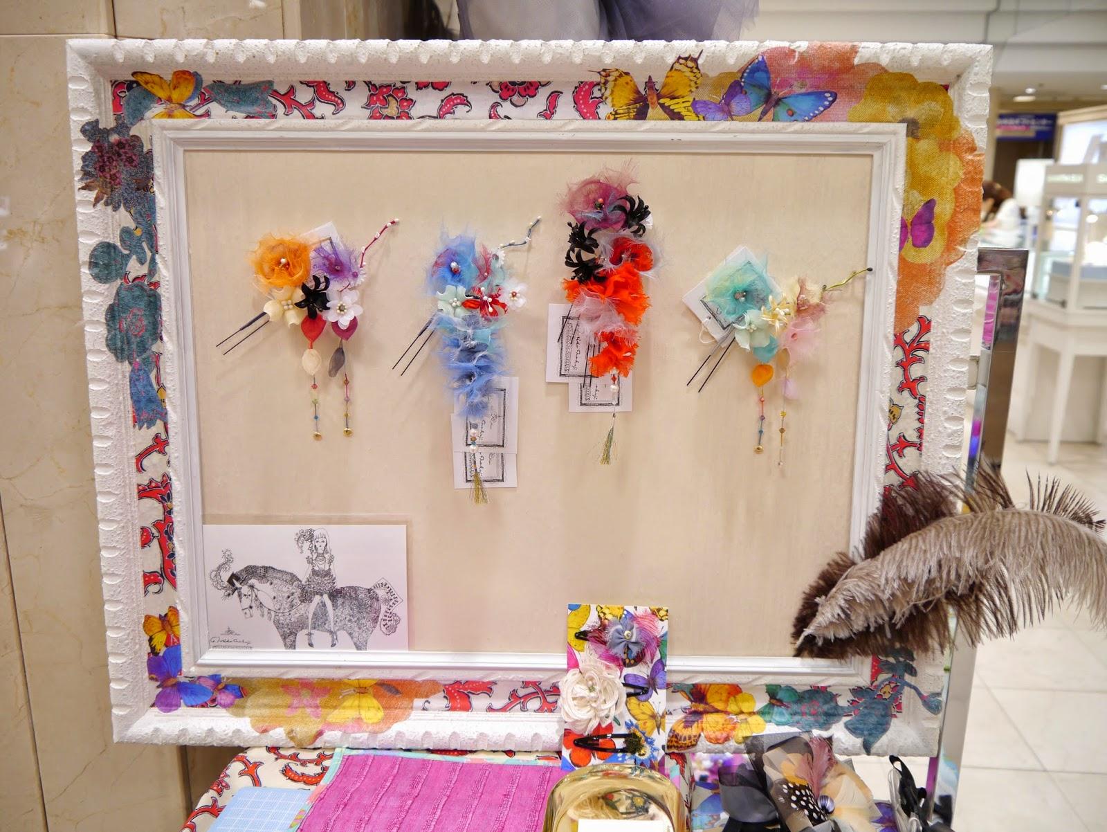 norikonakaji ヘッドドレス 髪飾り 京都 大丸 祇園祭