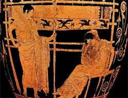 Telemachus and Penelope