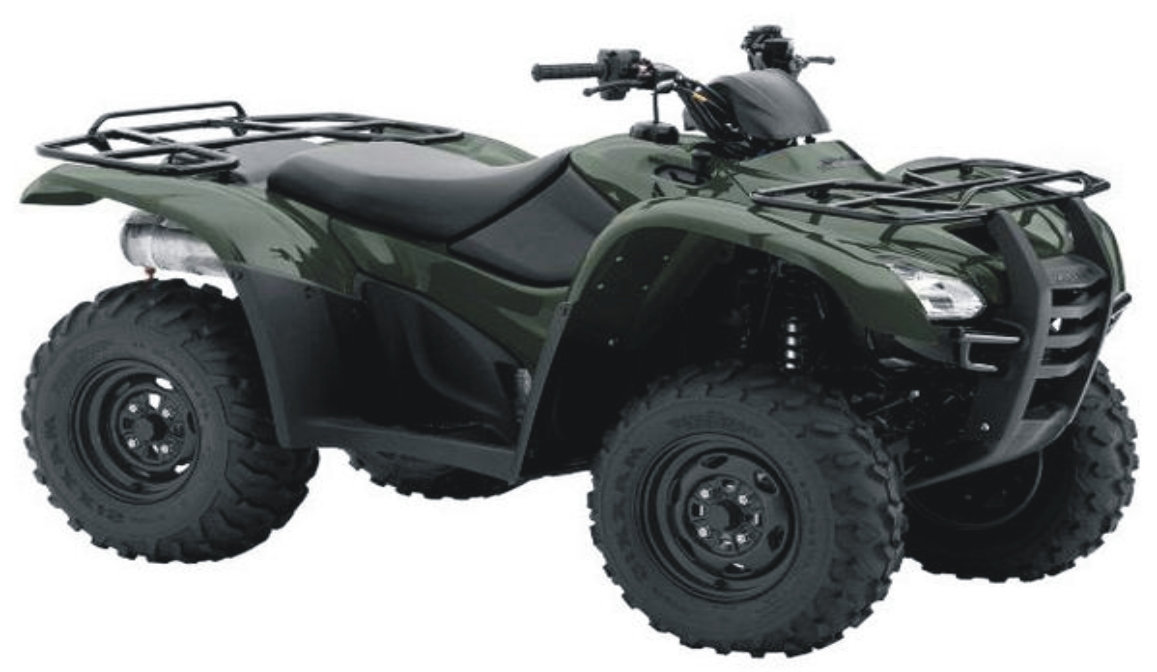 2012 Honda FourTrax Rancher AT Specifications and Pictures