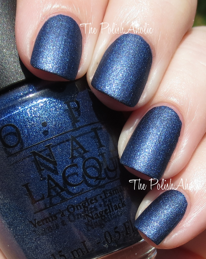 The PolishAholic: OPI Russian Navy Suede