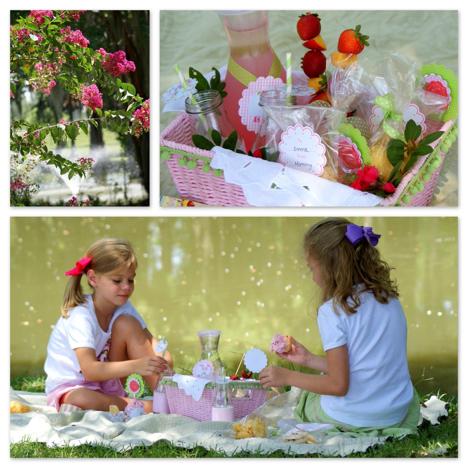 doll picnic craft