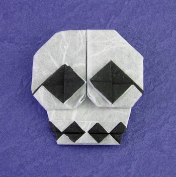 origami skull 3d instructionsrorigami skull 3d