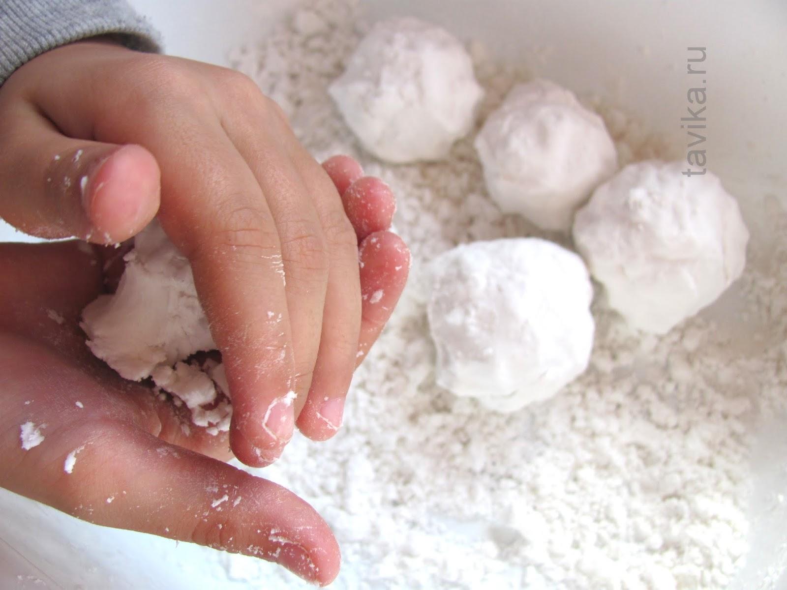 Как сделать снег своими руками