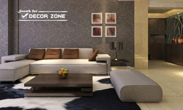 12 creative modern living room designs and ideas - Beige and gray living room ...