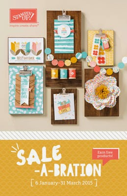 Stampin' Up Sale-A-Bration catalogus