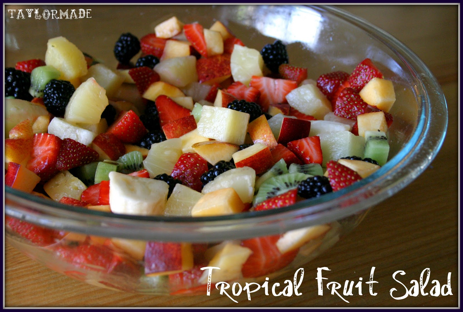 Fruit Salad Recipe For Kids With Custard In Urdu that ...