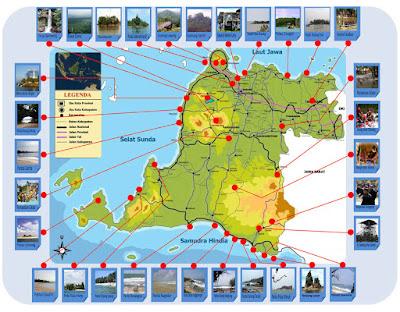 Peta Wisata Banten