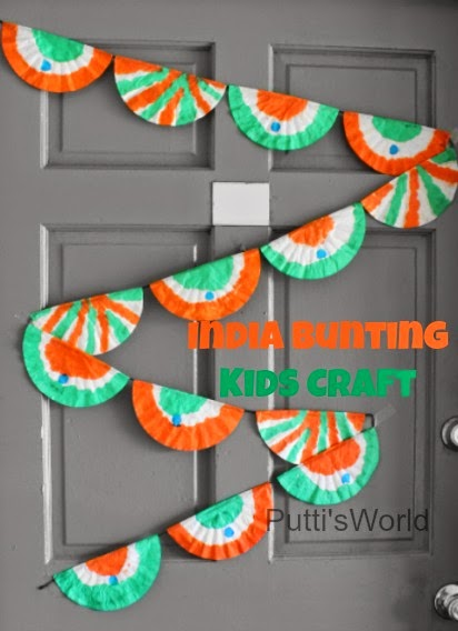 kids patriotic craft india bunting putti 39 s world kids