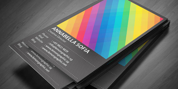 18) Business Card
