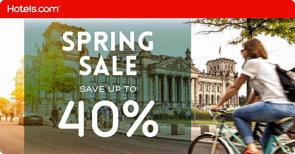 Spring Sale at Hotels.com