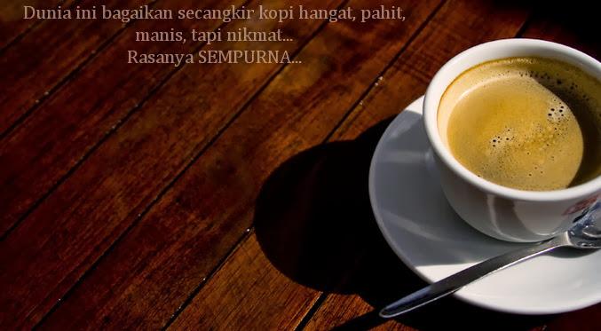 Cerita dan secangkir kopi...