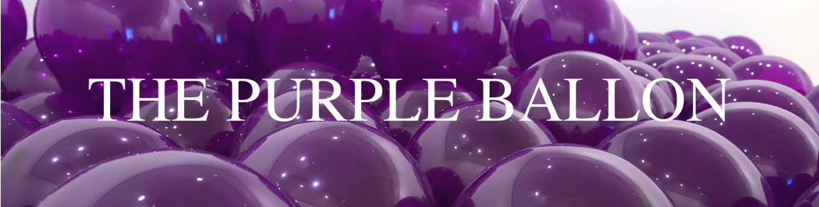 the purple ballon