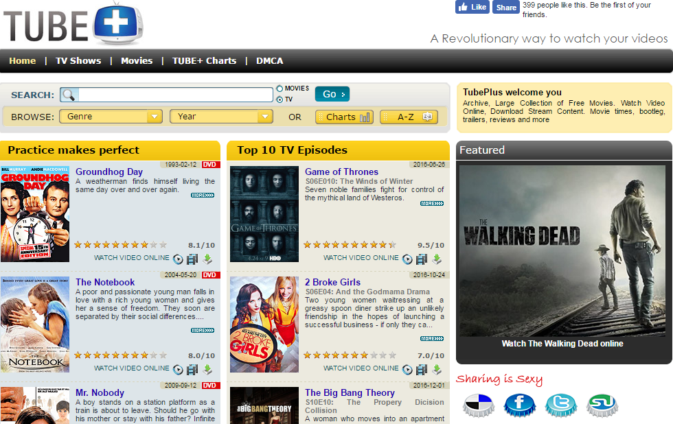 Top 5 Websites for Watching Online HD Movies for Free