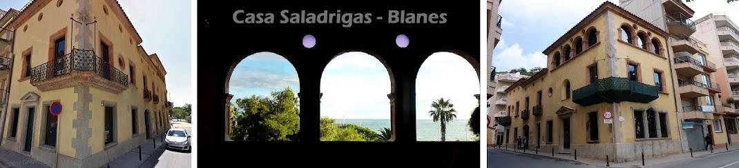 Exposición en casa Saladrigas, Blanes 2016