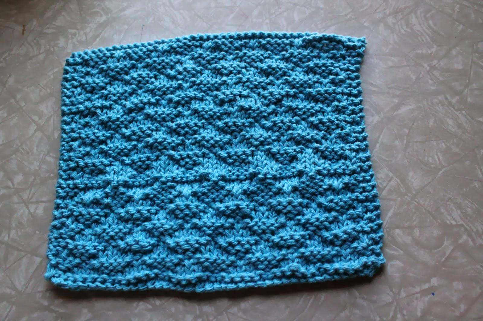 M Dishcloth Knitting Pattern : Everyday Life at Leisure: Weekly Dishcloth: Knitting the ...
