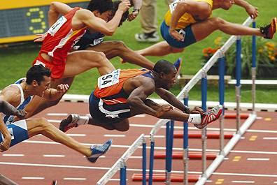 Atletismo carreras de velocidad vallas medio fondo - Imagen de vallas ...