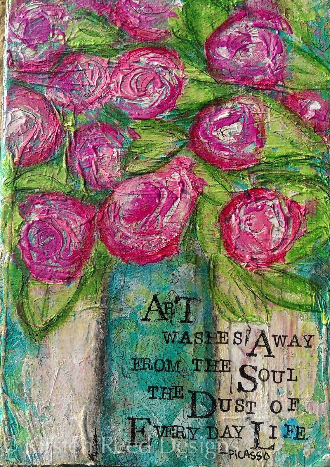 flowers art washes - photo #26