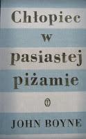 okładka ksiażki Chłopiec w pasiastej piżamie