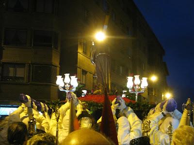 semana santa 2013 Burgos - costaleros
