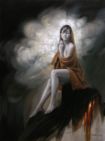 Fidel Garcia ~ Mexican Figurative and Abstract Expressionist painter