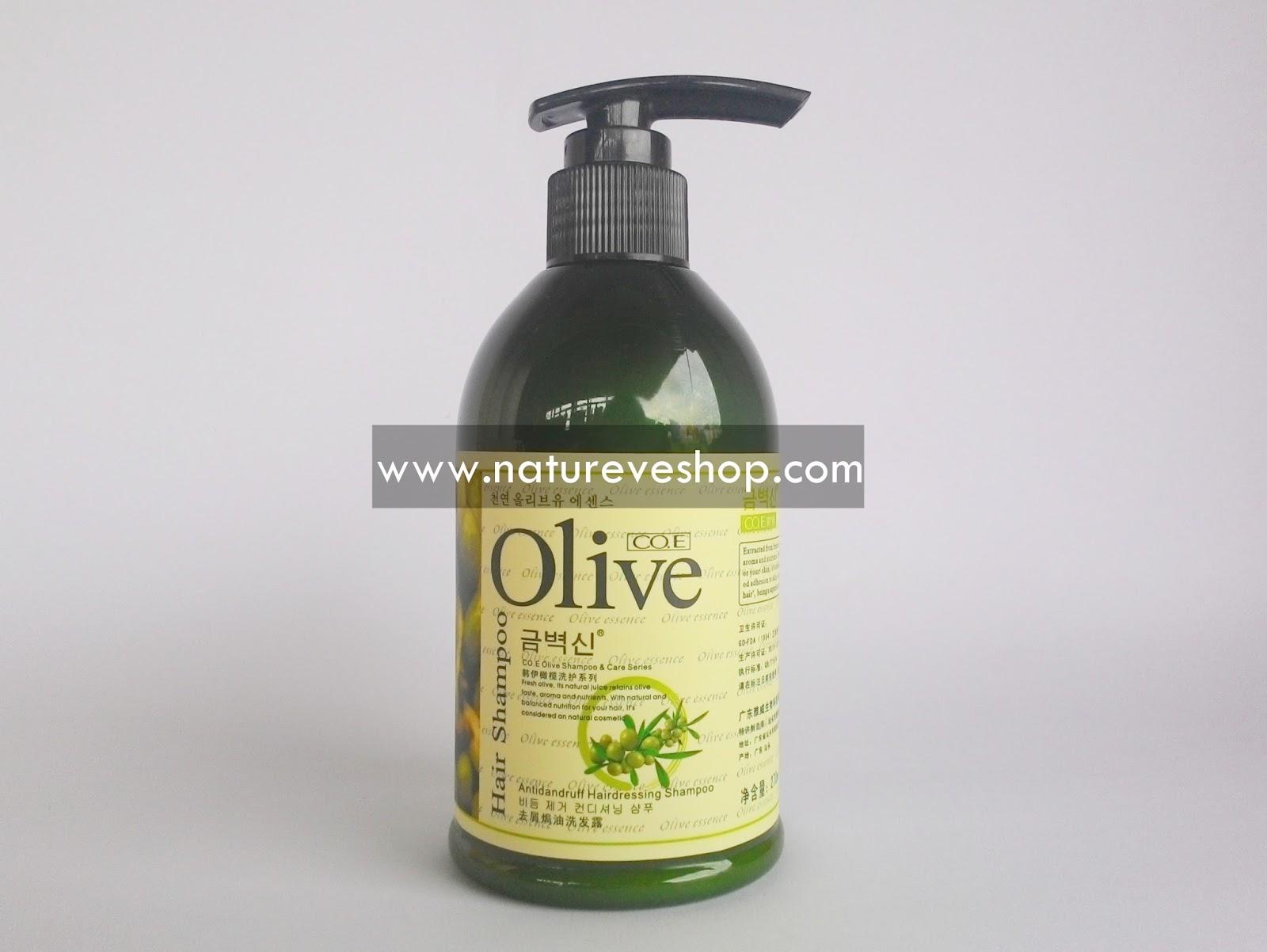 Nutrisi Herbal Perawatan Rambut dengan Olive Hair Shampoo