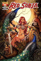 Red Sonja #1 Colleen Doran Cover