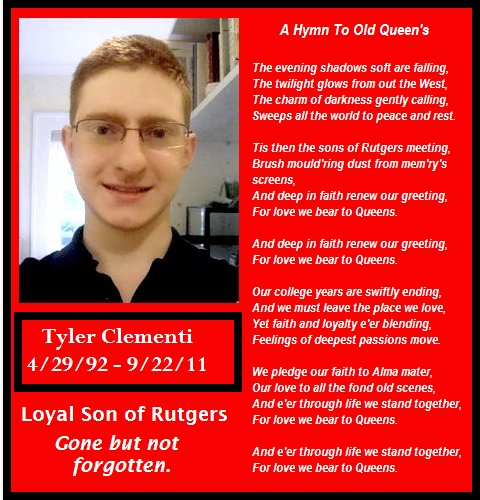 Gay sex tape of tyler clementi