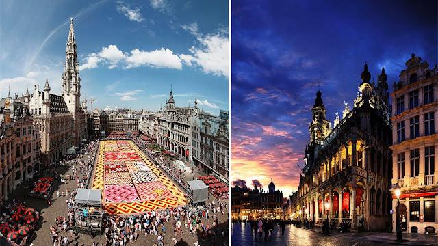 Brussels in Belgium