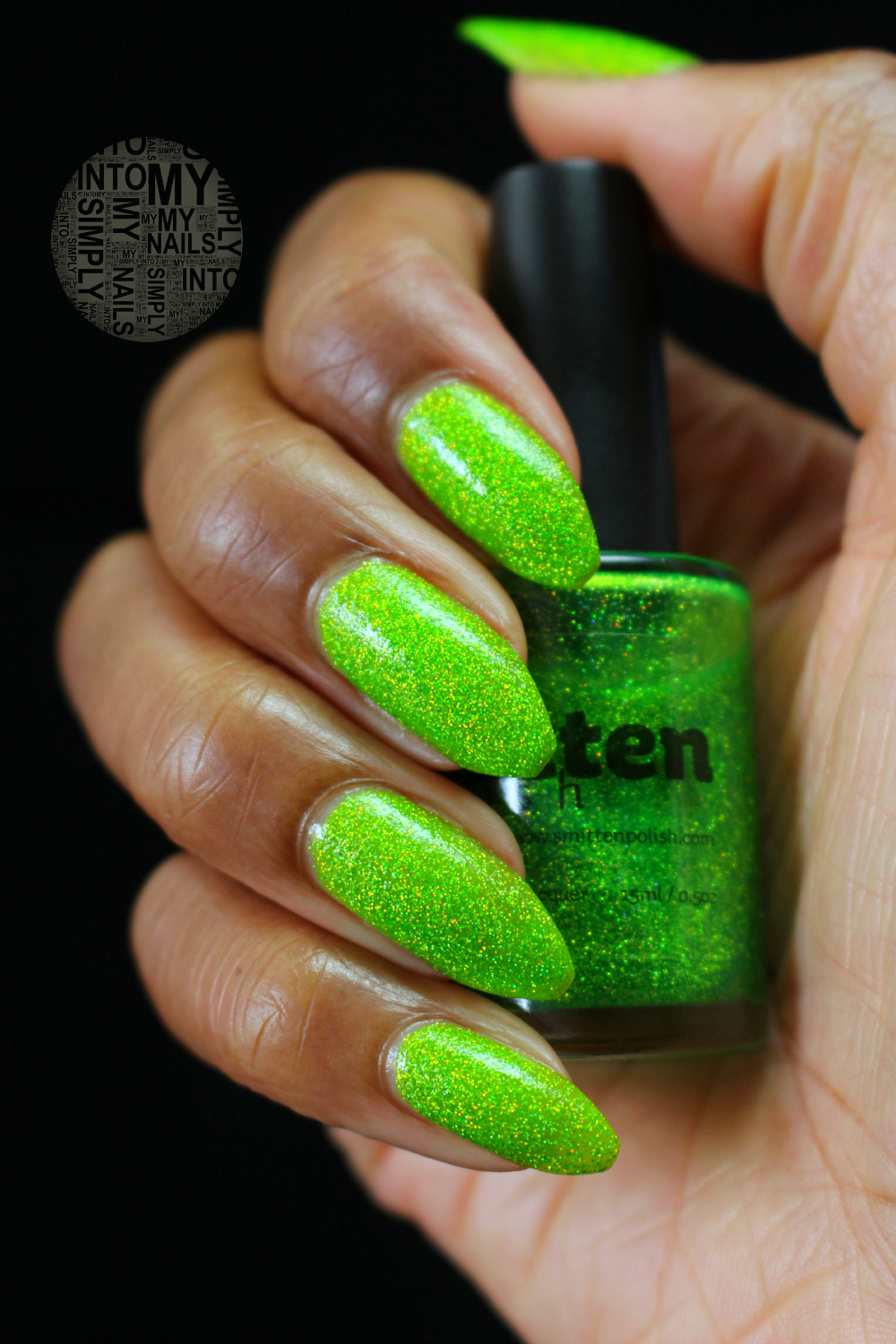 Not Your Mama\'s Easter Grass by Smitten Polish   Simply Into My NAILS