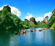 World Heritage Mount Wuyi China