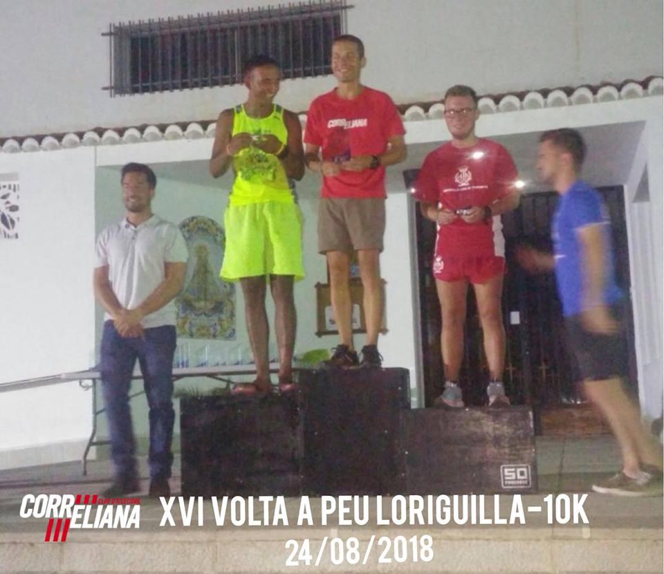 RICARDO IBAÑEZ GARCIA, Vencedor absoluto XVI Volta a Peu Loriguilla 2018