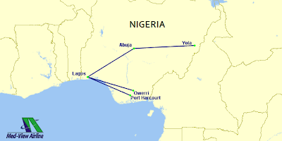 MedView Airline's Route Network