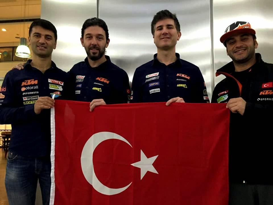 Türkiye'yi Dakar'da temsil edecekler