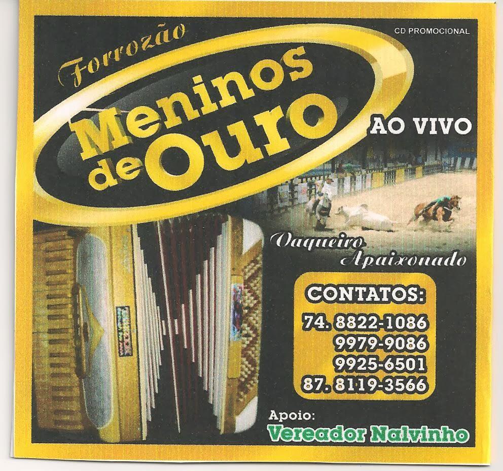 FORROZÃO MENINOS DE OURO