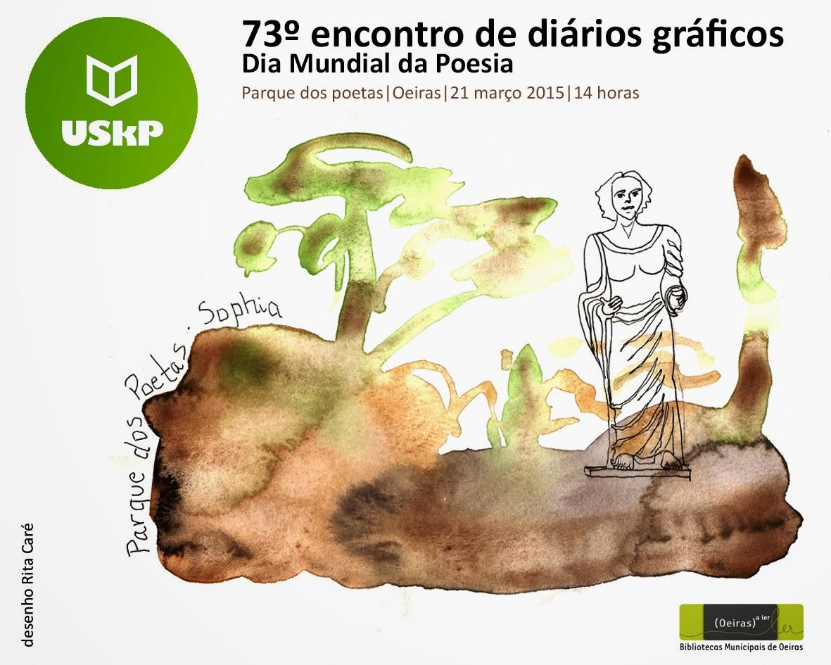 73º ENCONTRO USkP - DIA MUNDIAL DA POESIA