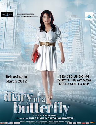 Diary of a Butterfly First Look Poster