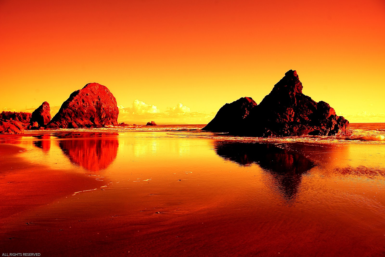 Many means beautiful sunsets from around the world for Paesaggi bellissimi per desktop