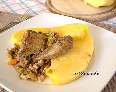 ricetta fagiano Fagianella in salmì con porri e pancetta ricetta secondi