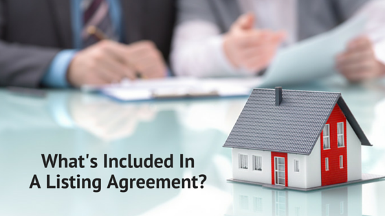 Whats Included In A Listing Agreement