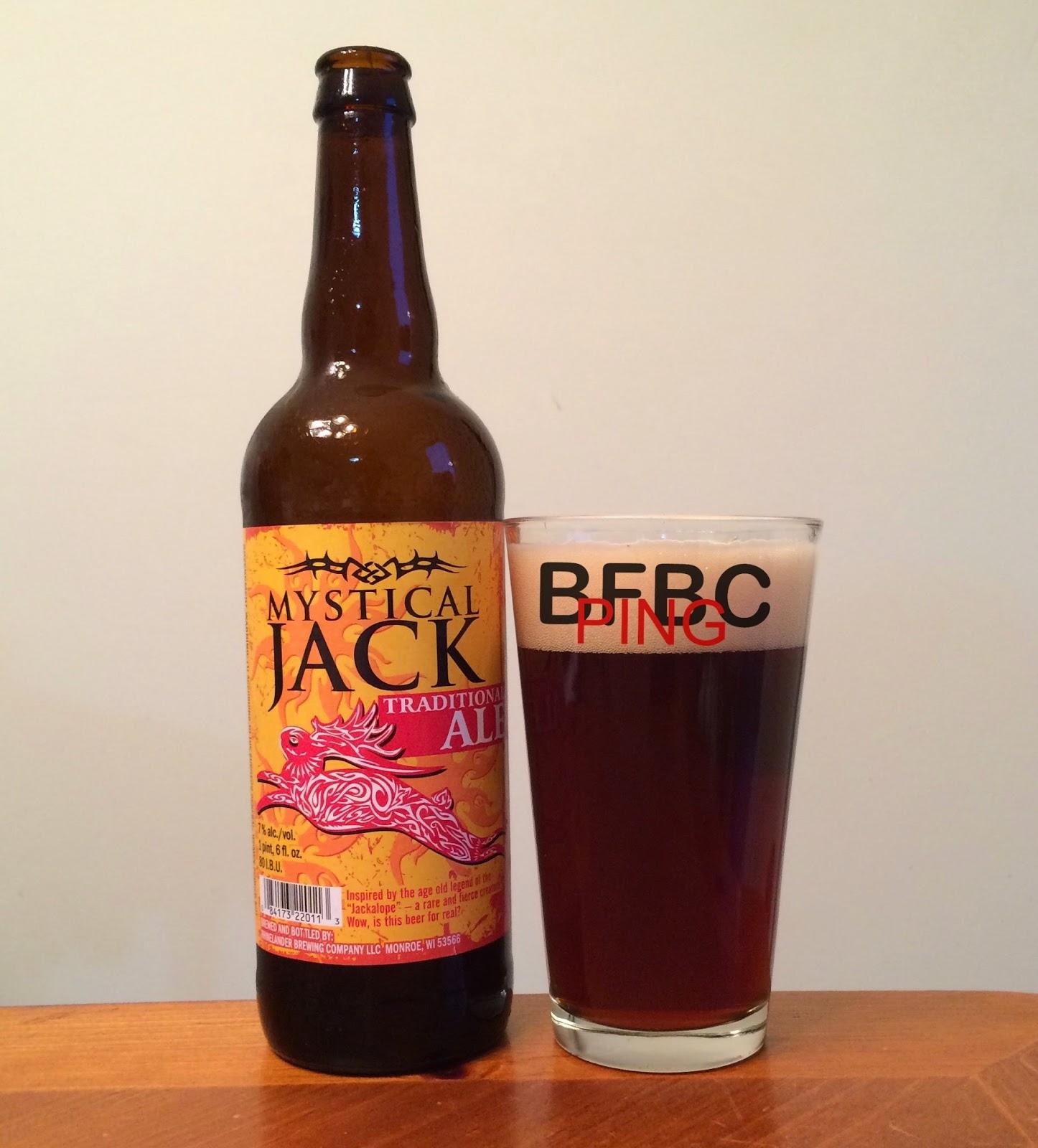 Rhinelander Mystical Jack Traditional Ale
