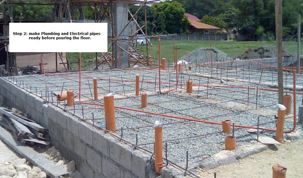 Home builders in the philippines manila cebu architect for Procedure to build a house
